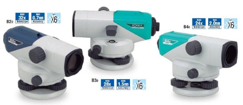 Thủy chuẩn tự động SOKKIA B20, B30, B40